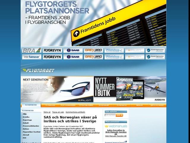 SAS och Norwegian växer på inrikes och utrikes i Sverige