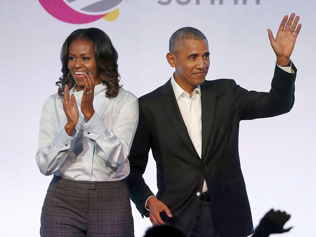 Netflixdebut för Obamaparets första film
