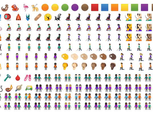 Google visar upp alla nya emojis i Android 10