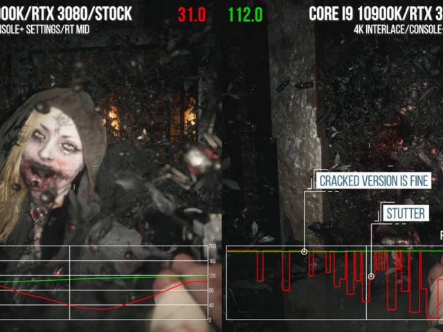 Prestandaproblemen i Resident Evil Village är fixade men ursäkten uteblir