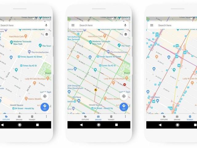 Google Maps får nytt färgschema för ökad tydlighet