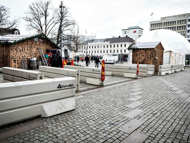Terrorhinder ska skydda julmarknadsbesökarna i Malmö