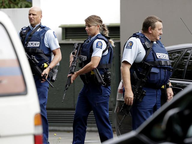 Flera döda efter massaker i Nya Zeeland