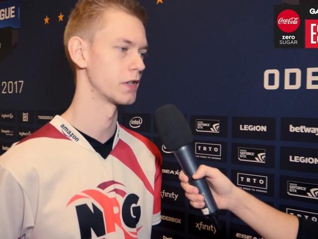 ESL Pro League-finalen / Vi intervjuar AnJ