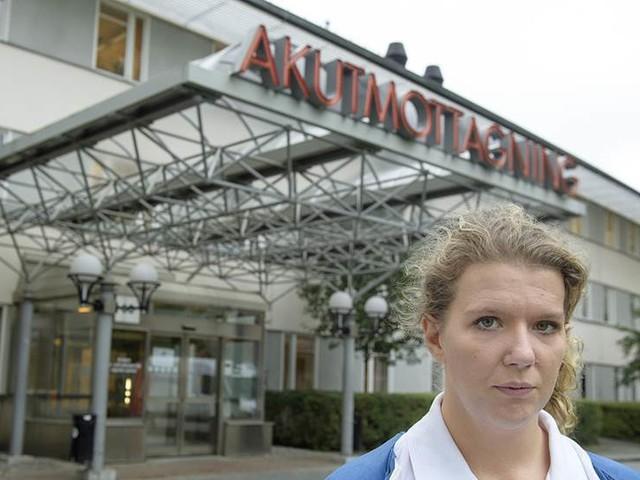 Hoten har blivit vardag på sjukhusen