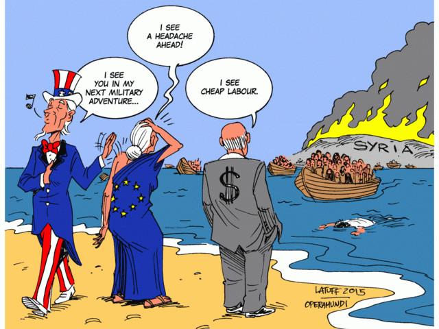 Massemigration och profit