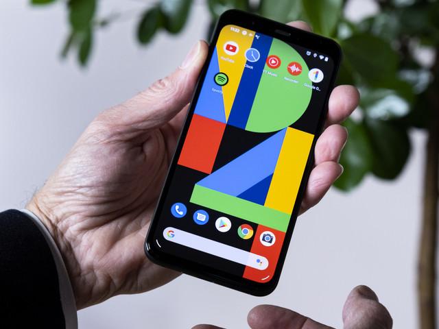 Google lanserar telefon med radar