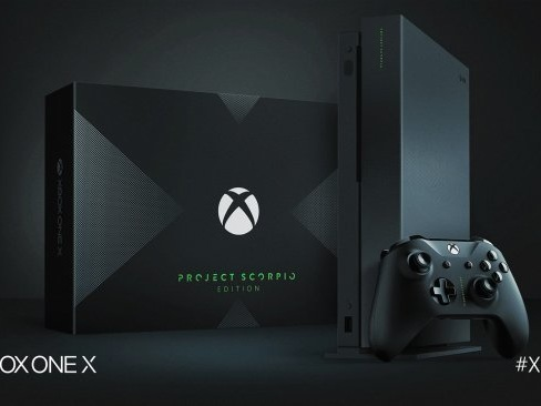 Xbox One X Scorpio Edition utannonserad och bokningsbar
