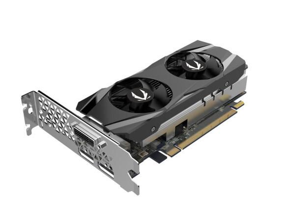 Zotac Geforce GTX1650 med låg profil hittar ut på webben