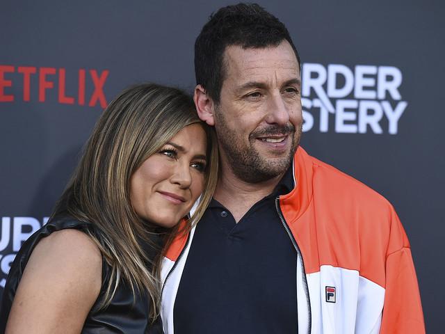 Sandler och Aniston slår rekord på Netflix