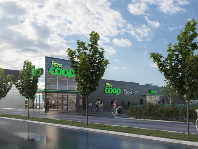 Ny Coop-butik öppnar intill Burlövs center