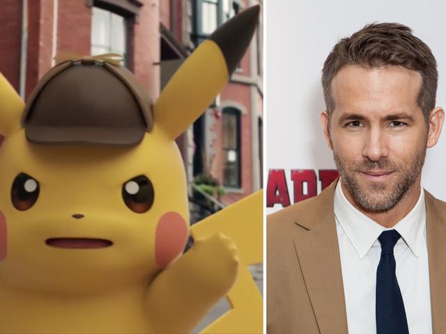 "Ryan Reynolds spelar Pikachu i ny ""Pokémon""-film"