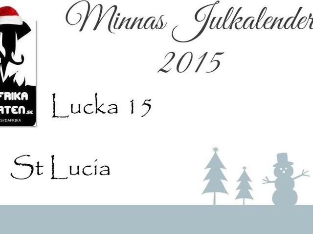 Lucka 15: St Lucia
