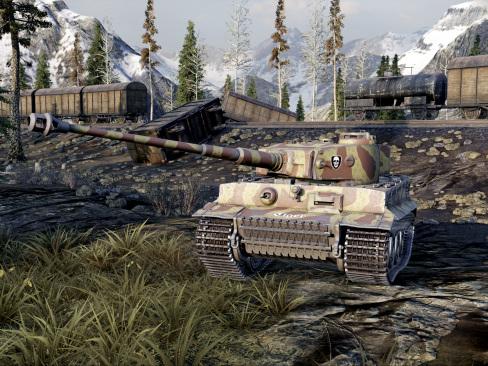Vackra 4K-screenshots från World of Tanks till Xbox One X