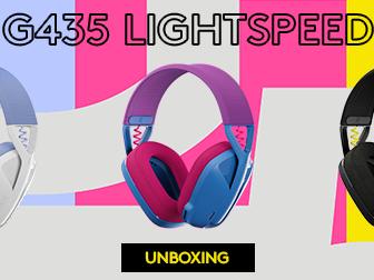 Vinn ett Logitech G435 Lightspeed här!
