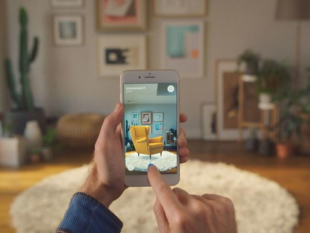 Så ser IKEA:s AR-app som ska revolutionera detaljhandeln ut