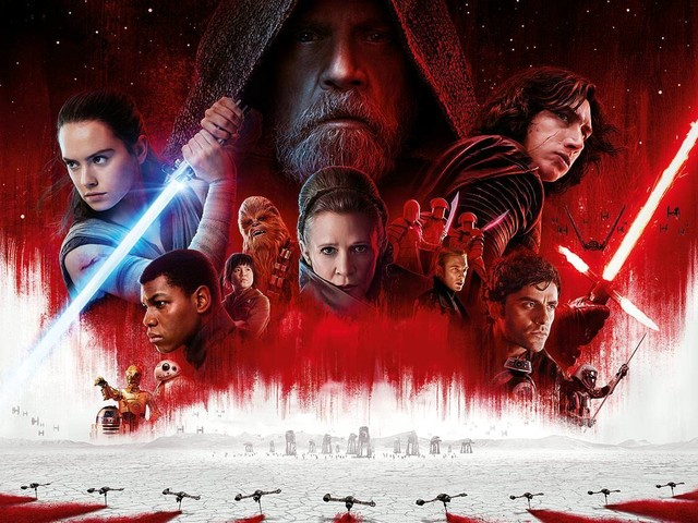 14 borttagna scener i Star Wars: The Last Jedi på Blu-ray