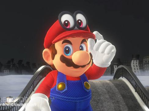 Två miljoner sålda Super Mario Odyssey på tre dagar
