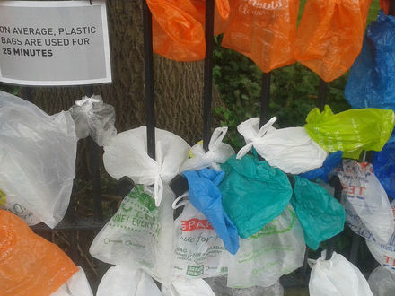 Kraftig minskning av plastpås-förbrukning
