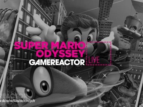 Gamereactor Live: Plattformsmys i Super Mario Odyssey
