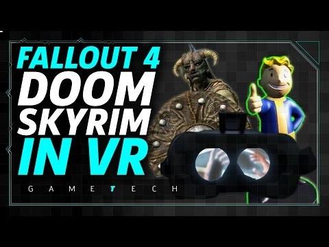 Skyrim VR verkar komma till HTC Vive nästa år