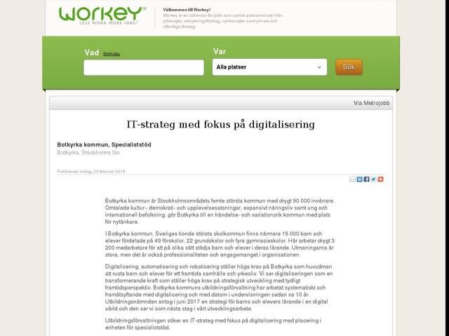 IT-strateg med fokus på digitalisering