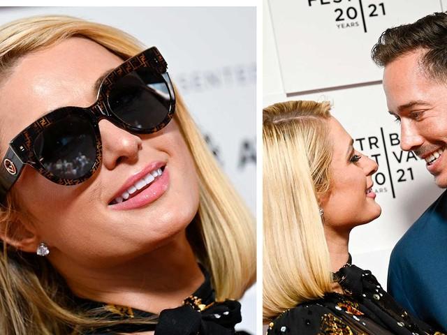 Paris Hiltons svar efter gravidryktet