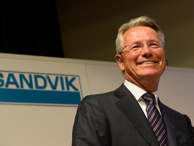 Sandviks vd: Ser inget av lågkonjunkturen det talas om