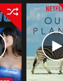 Netflix experimenterar med en slumpfunktion