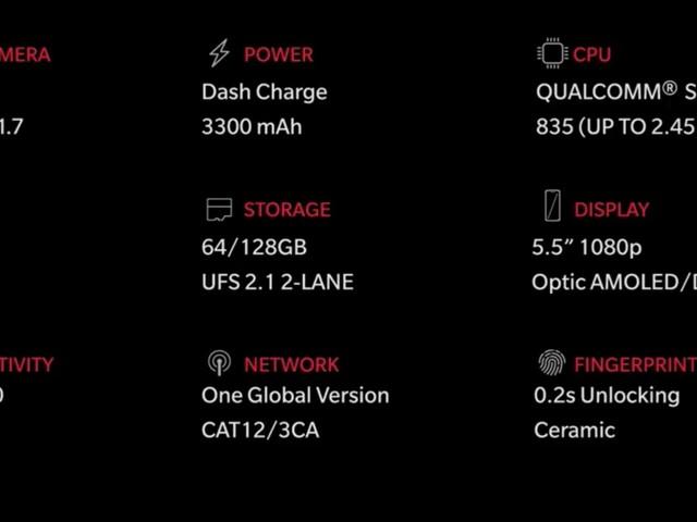 Alla officiella uppgifter om OnePlus 5 – här är nya toppmodellen