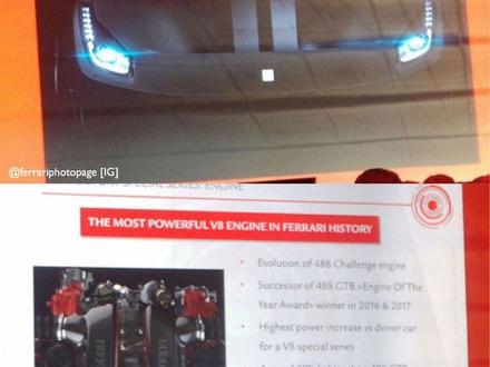 488 GTO sägs få den kraftfullaste V8:an Ferrari skapat