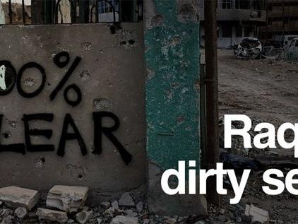 USA och kurderna hjälper IS att fly från Raqqa (BBC)