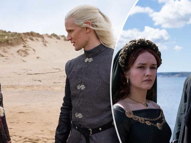 """Första bilderna från """"House of the dragon"""""""