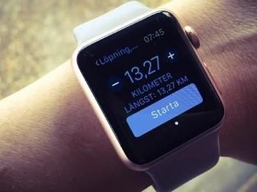 Man räddas från lungsjukdom – av Apple Watch