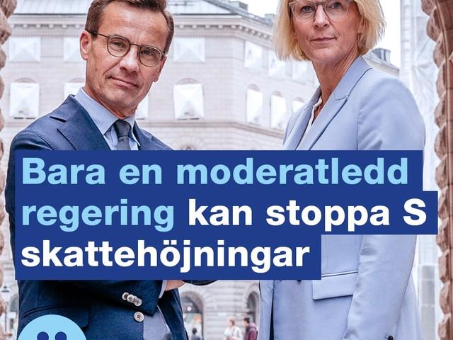 Stoppa Socialdemokraternas skattehöjningar!