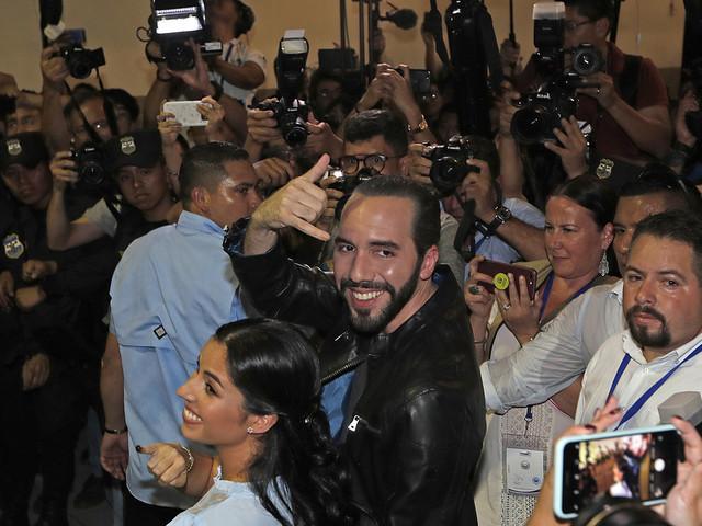 Ny president i El Salvador