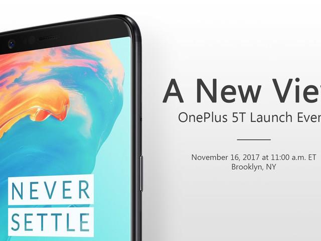 Presentationen av OnePlus 5T inleds 17:00, går att följa live