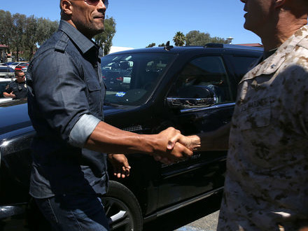 The Rock vill bli president i USA