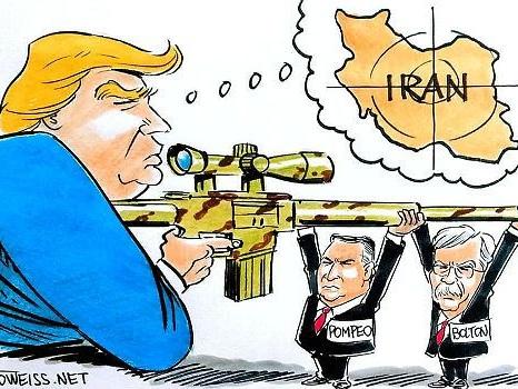 Mike Pompeos krigsförklaring mot Iran