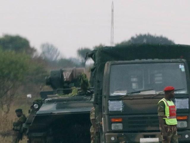 Militären: Inte ett militärt övertagande