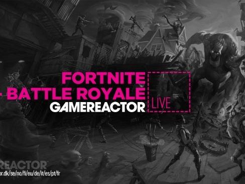 GR Live Sverige - Fortnite (Battle Royale) med redaktionen