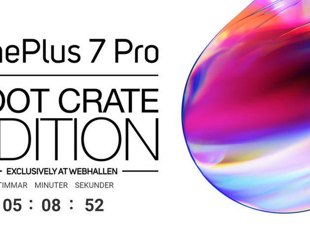 Idag kan du förboka OnePlus 7 Pro Loot Crate Edition