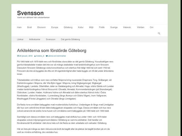Arkitekterna som förstörde Göteborg