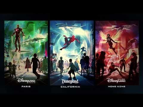 Marvel kommer till Disneys nöjesfält