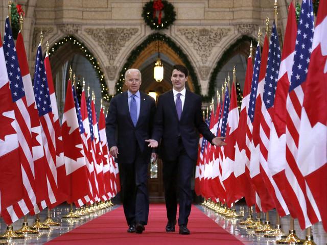 Biden träffar Kanadas Trudeau i februari