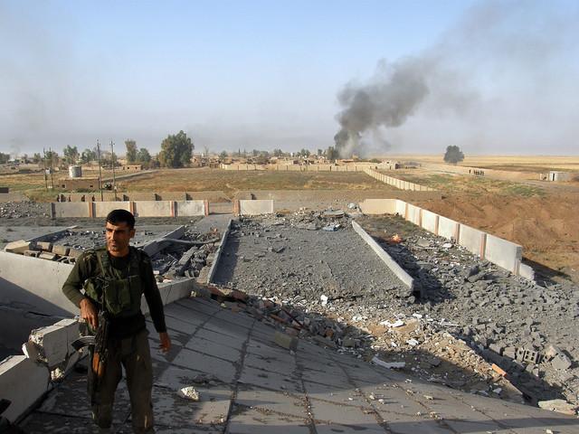 Tusentals flyr oroligheterna i Kirkuk
