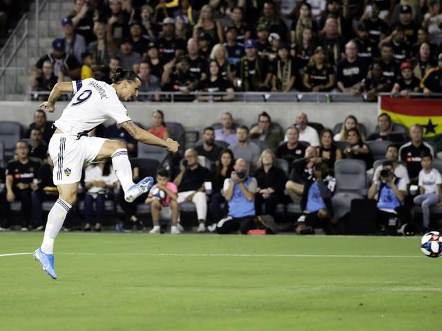 Zlatan ledde Galaxy till ny seger