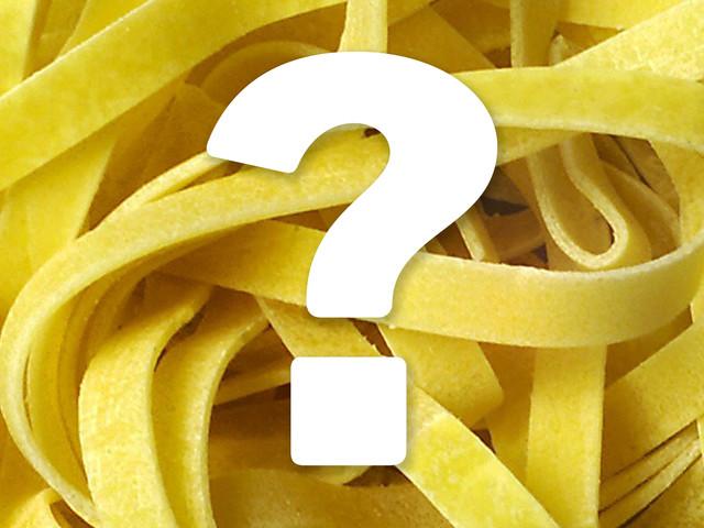 Quiz: Vad är det för pastasort?