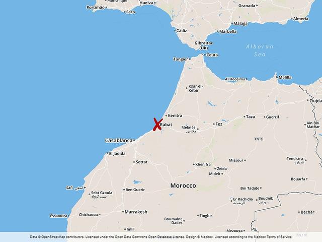 Stora lärarprotester i Marocko