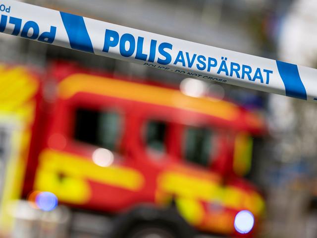 Källarbrand i villa på Norra Fäladen